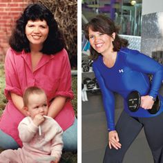 Roseann Dashkowitz - Our Most Inspiring Before & After Weight Loss Photos -Lost 87 pounds.  Her tip is to sign up for a 10k for walking #motivation. Shape Magazine
