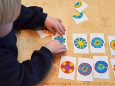 Learn with Play at home: Free Printable Flower Matching Game (guest post by Picklebums!)