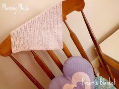 Mammy Made: Preemie blanket free crochet pattern