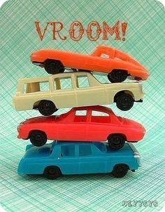 Car cake toppers for our next party