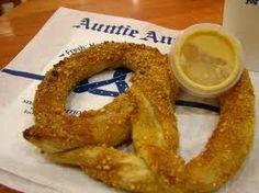 Auntie Anne's Pretzels!