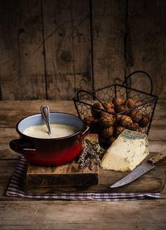 Salsa de quesos asturianos