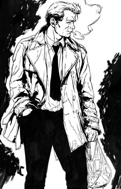 John Constantine by Marc Laming