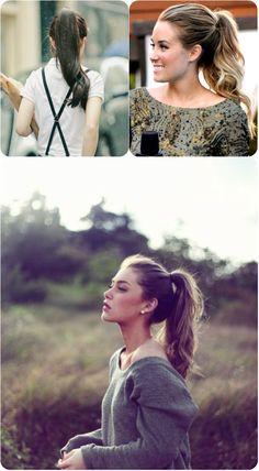 I secretly love the prep ponytail. It's fantastic.