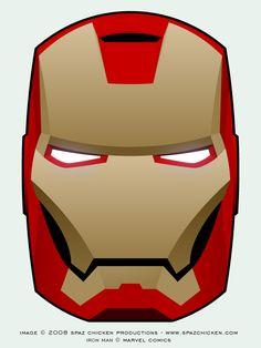 Iron Man Mask by SpazChicken.deviantart.com