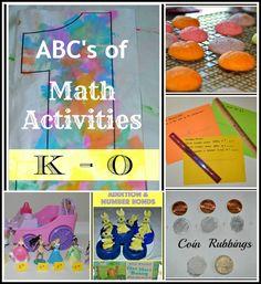 Math Activities K - O