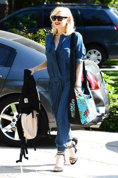 The best celebrity denim looks: Gwen Stefani