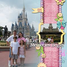 Disney Scrapbooking Ideas