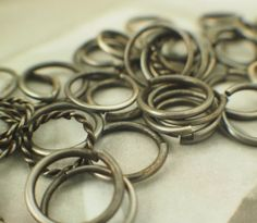 Oxidized Jump Rings