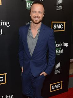 We can't condone what the Breaking Bad nominee was cooking up on the AMC show. But we can support that mischievous smile. And his flair for rocking exactly the right amount of facial hair. And ... would you like us to go on?