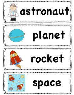 SPACE THEME Activities