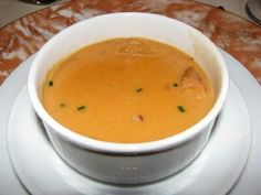 Lobster Bisque - Recipe - Carnival Cruise Lines - CRUISIN