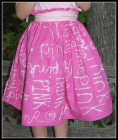 cool idea to write on fabric using Elmer's glue and Ritt dye. So many possibilities...
