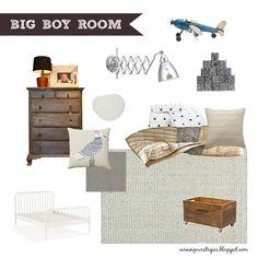 {Big Boy Room} Mood Board