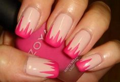 Easy and Cute Pink Nail Designs
