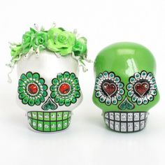 Skull Wedding Cake Topper A00164