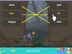 Adjectives - Antonyms #adjectives