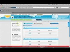 How to Add/Change Shipping Groups and Classes Using Storenvy - YouTube