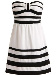 Onyx Banded Dress