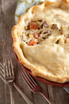 Paula Deen Savory Chicken Pie#Repin By:Pinterest++ for iPad#