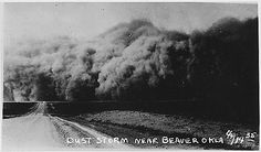 Great Depression Picture: A Dust Storm in Oklahoma