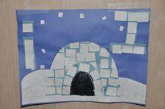 igloo preschool activities, winter, stickers, craft activities, sticker igloo, kids, toddlers, letters, crafts