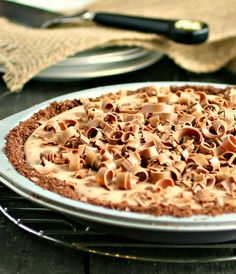Hungry Couple: Chocolate Mousse Pie