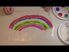 Wax Paper Rainbow