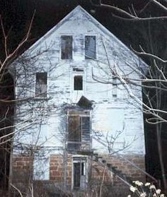 A haunted building in Vishnu Illinois. Now abandoned, it is literally a ghost town with nothing but it's spirits.. :0)