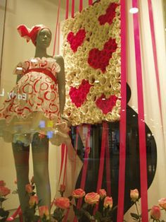 9month mother, window displays, mothers day window display, display windows