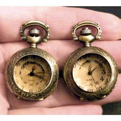 Mens Pocket Watch Cufflinks