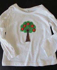 apple tree shirt