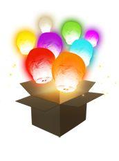 balloon multi, fli lantern