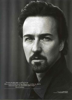 Edward Norton: hands down a great actor