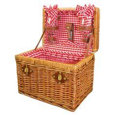 6 Piece Chardonnay Picnic Basket Set » Take me on a picnic @Mike Tucker Berndt!