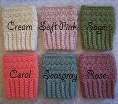 Crochet Boot Cuffs <33