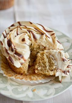 Perfect Peanut Butter Cupcakes