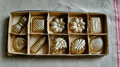 antique chocolate moulds