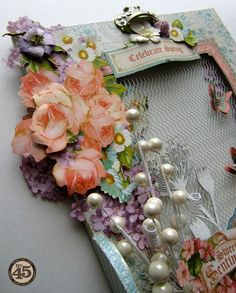 The details on Maria's altered Sweet Sentiments hook rack #Graphic45