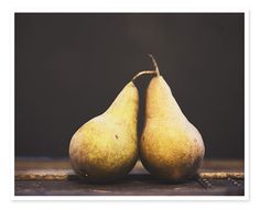 Bosc Pears Photography