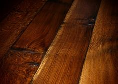 old world chateau wide plank quartersawn white oak, hand scraped, smoked, fumed, glazed, triple oiled (solid or engineered)