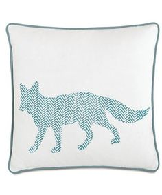 J  J Modern Kids - Foxy Pillow #summerinthecity #modernnursery modern kid, kid space, foxi pillow, fox pillow