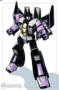 SkyWarp - Transformers - Eryck Webb