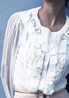 elisabetta-franchi-white-blouse