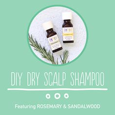 Treat your dry scalp to this shampoo recipe featuring rosemary and sandalwood essential oils.
