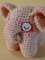 Padma the Elephant ☺ Free Crochet Pattern ☺