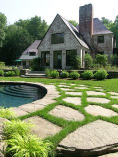 Hoffman Landscapes hous, garden, pool decks