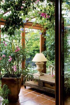 Dom z oranżerią - Weranda