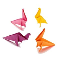 "TLC Family ""Origami Dinosaur Craft"""