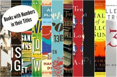 Books with numbers in their titles.